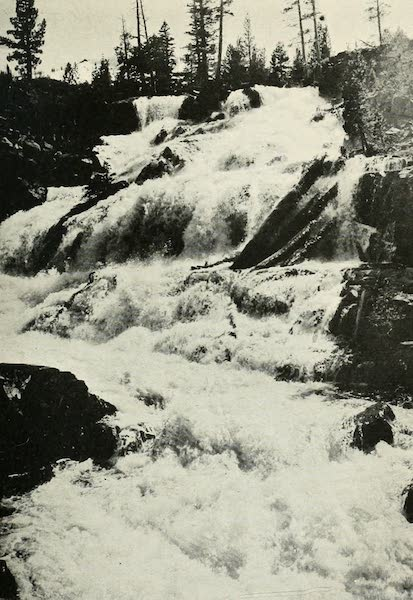 The Lake of the Sky, Lake Tahoe - Glen Alpine Falls (1915)