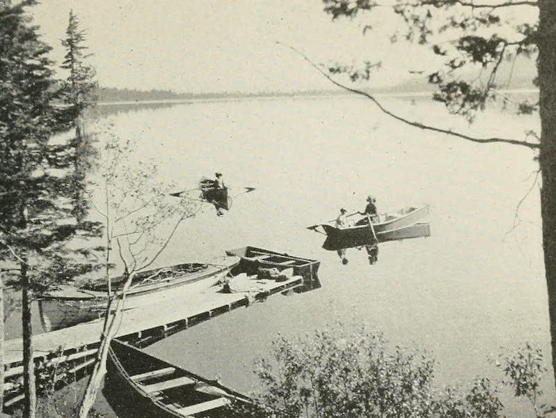The Lake of the Sky, Lake Tahoe - Boating on Fallen Leaf Lake (1915)