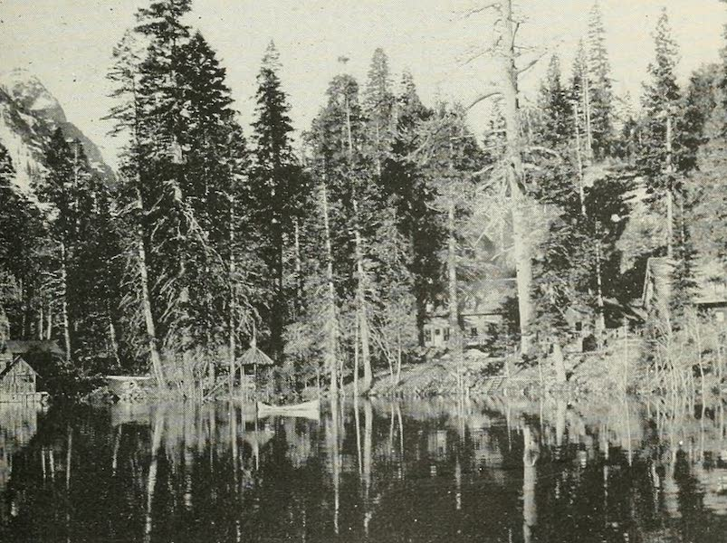 The Lake of the Sky, Lake Tahoe - Fallen Leaf Lodge Among the Pines, on Fallen Leaf Lake (1915)