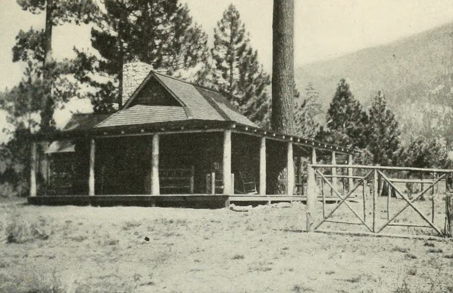 The Lake of the Sky, Lake Tahoe - Picturesque Palo Alto Lodge, at Lakeside Park, Lake Tahoe (1915)
