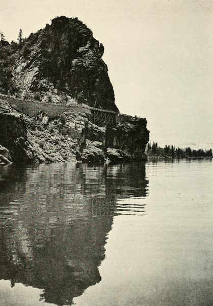 The Lake of the Sky, Lake Tahoe - Automobile Road Around Cave Rock, Lake Tahoe (1915)