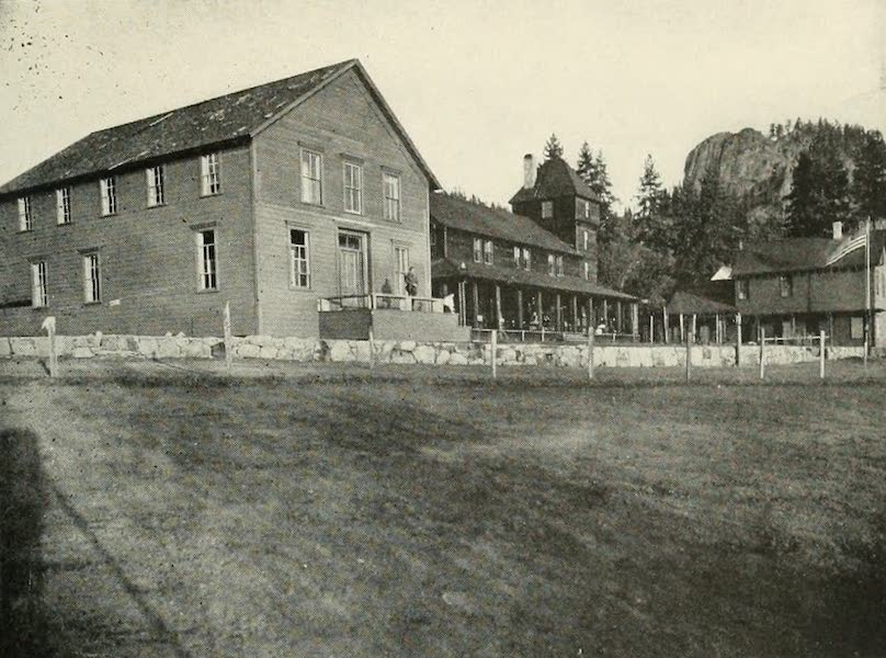 The Lake of the Sky, Lake Tahoe - Glennbrook Inn, on Nevada side Lake Tahoe (1915)