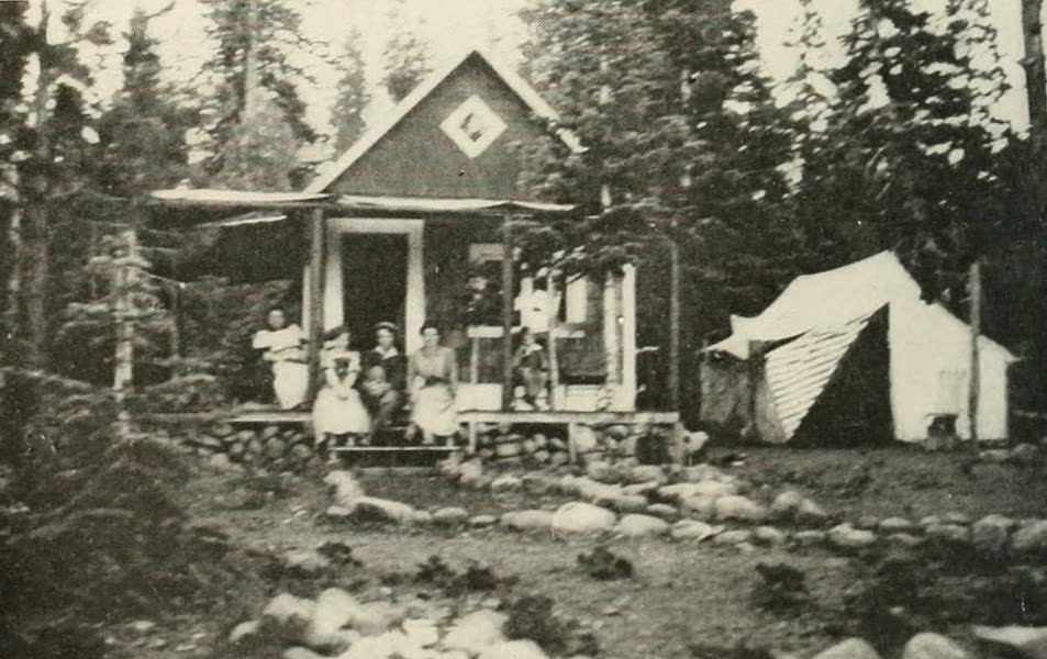 The Lake of the Sky, Lake Tahoe - Cottage overlooking Carnelian Bay, Lake Tahoe (1915)