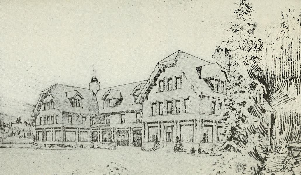 The Lake of the Sky, Lake Tahoe - Proposed Family Club House, Carnelian Bay, Lake Tahoe (1915)