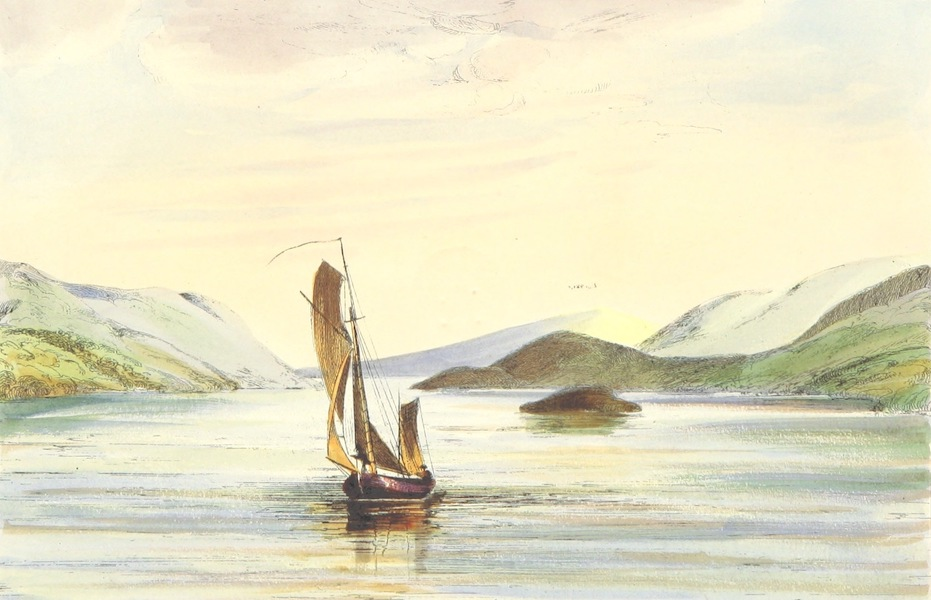 The Lakes of England - Lower Reach, Windermere (1869)