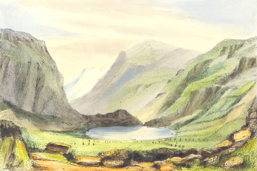 The Lakes of England - Blea Tarn (1869)