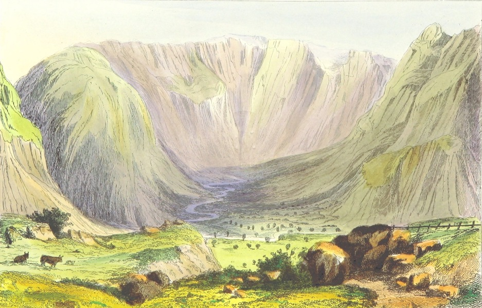 The Lakes of England - Valley of the Stake (1869)