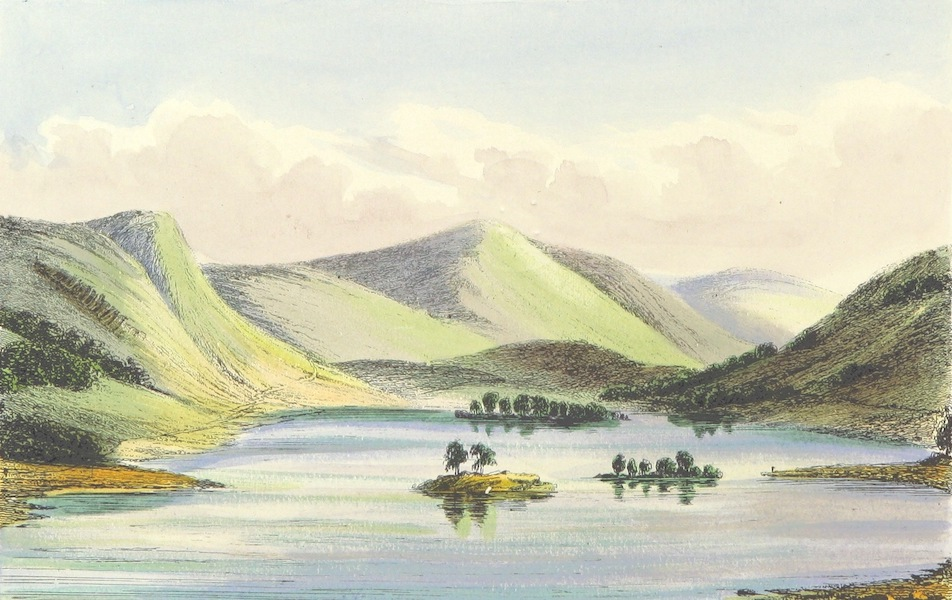 The Lakes of England - Rydal Water from the South East (1869)