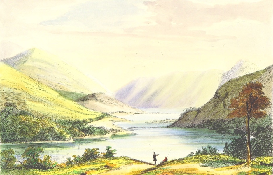 The Lakes of England - Thirlmere from the North (1869)