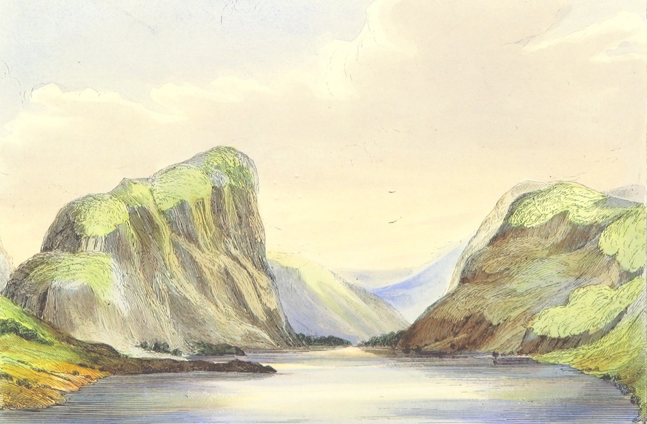 The Lakes of England - Crummock Lake from the East (1869)