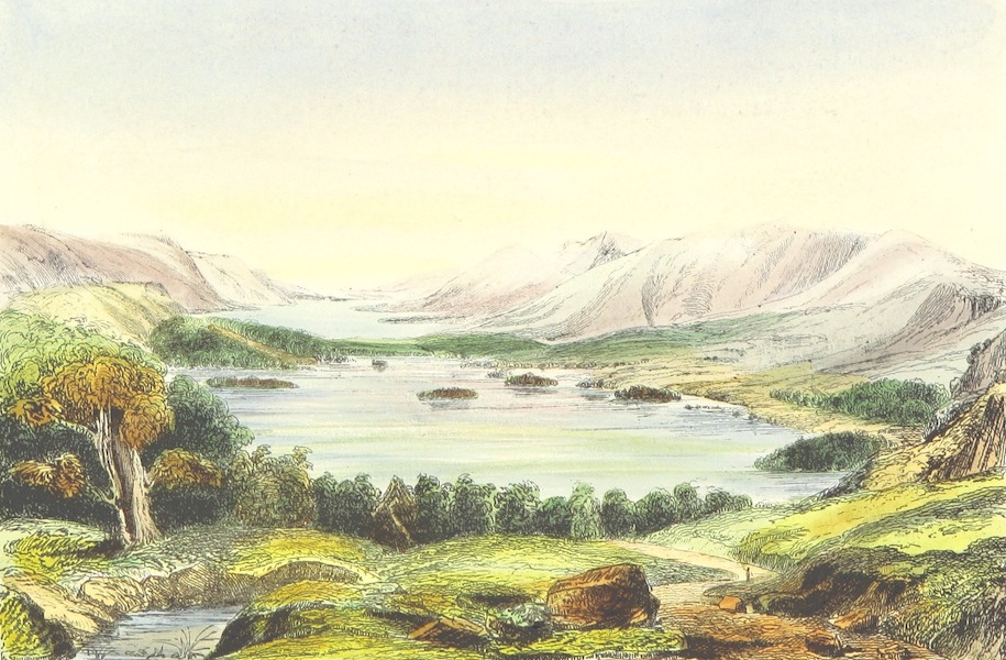The Lakes of England - Derwentwater and Bassenth Lakes (1869)