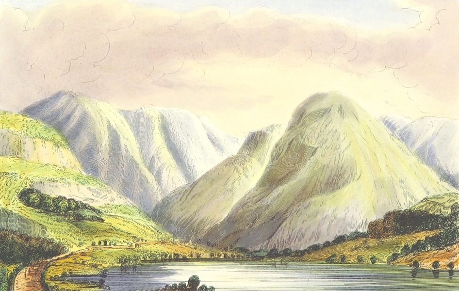 The Lakes of England - Loweswater from the North West (1869)