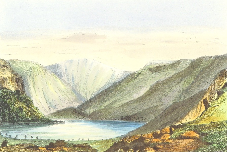 The Lakes of England - Hawes Water from Thwaite Force (1869)