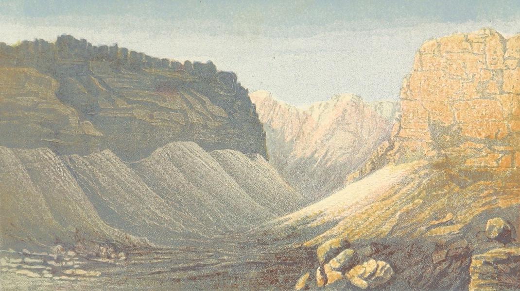 The Land of Israel - Wady Rubt El Ramus, West Side of Dead Sea (1865)