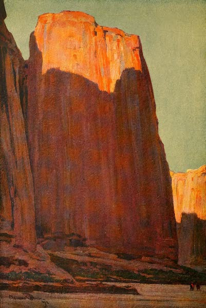 The Land of Living Color - Spirit Canyon, New Mexico (1915)