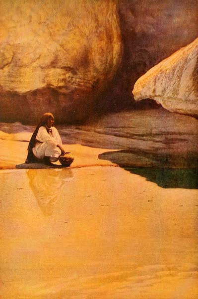 The Land of Living Color - At the Well of Acoma (1915)