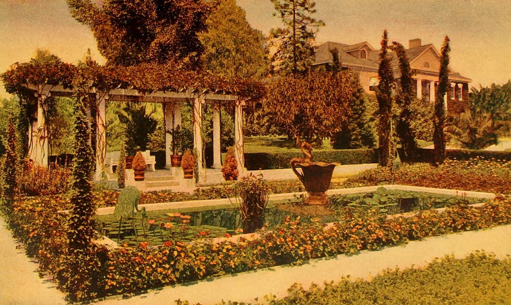 The Land of Living Color - A Pergola in Pasadena (1915)