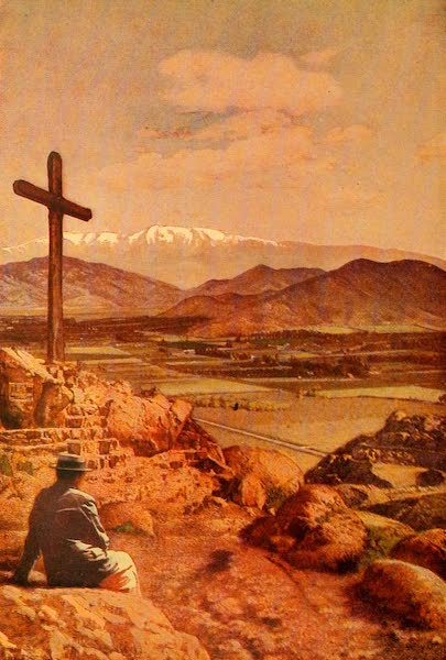 The Land of Living Color - The Serra Cross on Rubidoux (1915)