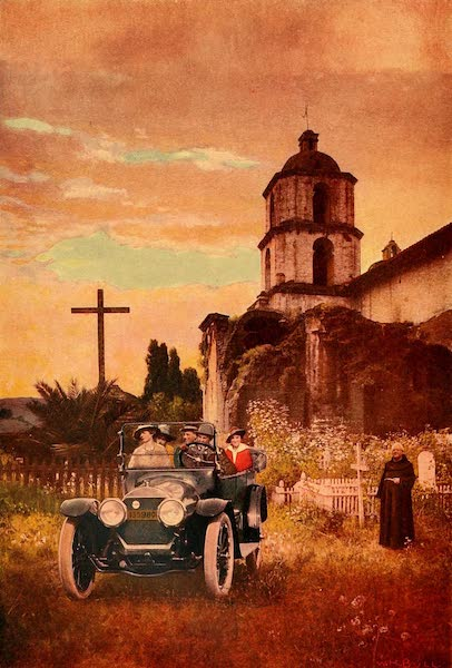 The Land of Living Color - At Mission San Luis Rey (1915)