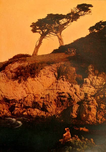 The Land of Living Color - On the Cliffs of Monterey (1915)