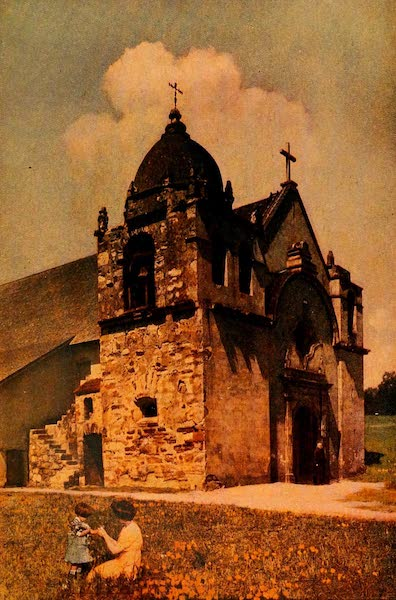 The Land of Living Color - The Mission of San Carlos de Carmelo (1915)