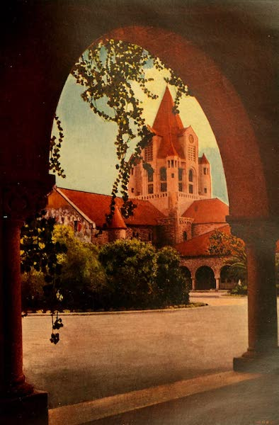 The Land of Living Color - A Corridor at Stanford University (1915)