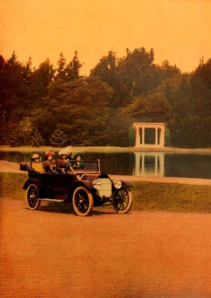 The Land of Living Color - A Lake in Golden Gate Park (1915)
