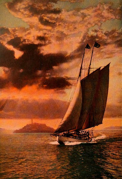 The Land of Living Color - Yachting on San Francisco Bay (1915)