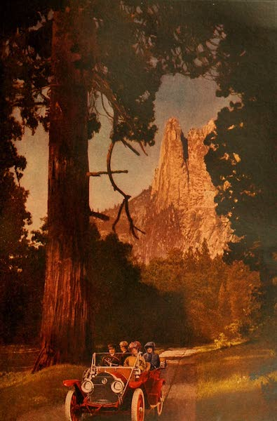 The Land of Living Color - Motoring in Yosemite (1915)