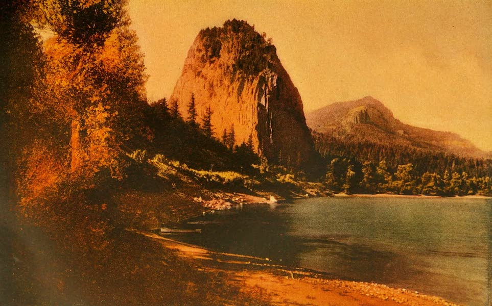 The Land of Living Color - Castle Rock in Oregon (1915)