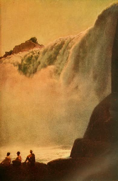 The Land of Living Color - The Majestic Falls of Shoshone (1915)
