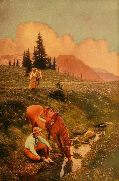 The Land of Living Color - Upland Riders (1915)