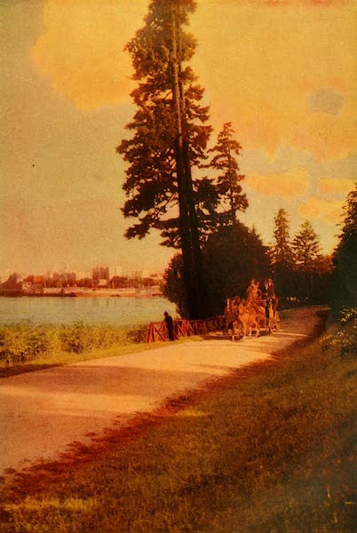 The Land of Living Color - A Glimpse of Vancouver's Sky Line (1915)