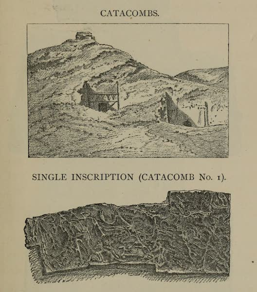The Land of Midian (Revisited) Vol. 1 - Catacombs and Single Inscription (Catacomb No. 1) (1879)
