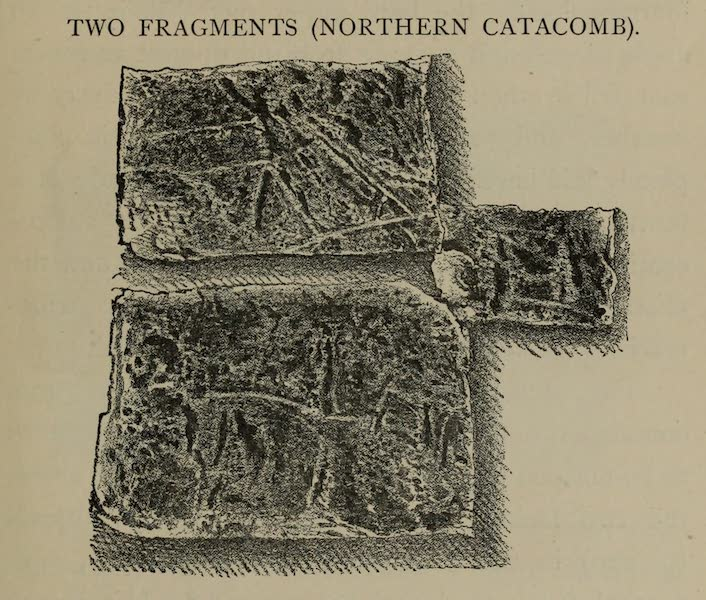 Two Fragments (Northern Catacomb)