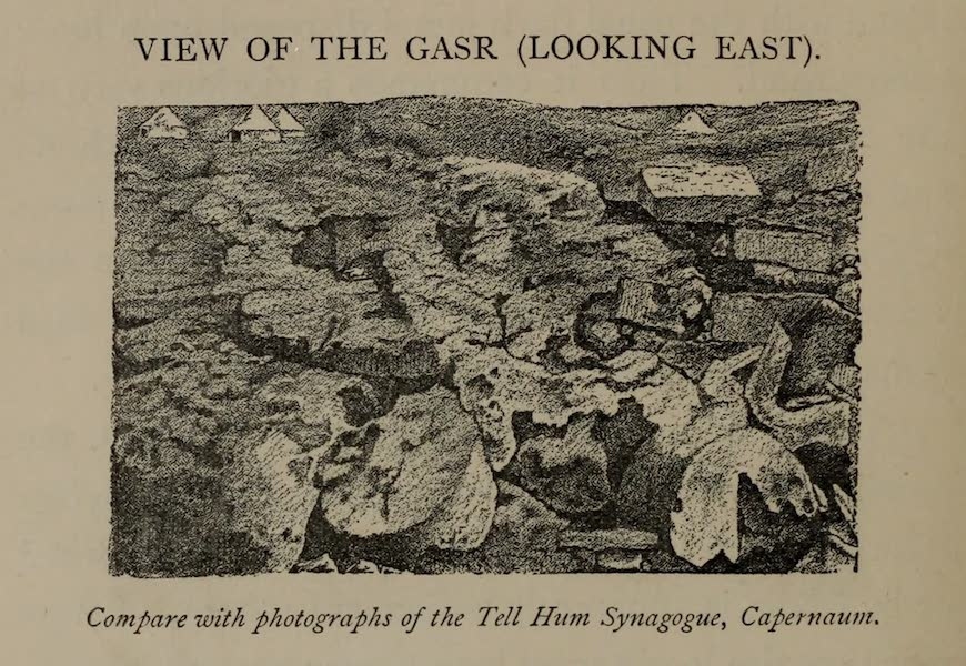 The Land of Midian (Revisited) Vol. 2 - View of the Gas (Looking East) (1879)