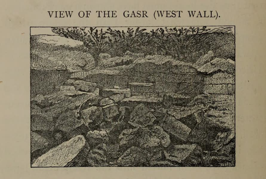 The Land of Midian (Revisited) Vol. 2 - View of the Gas (West Wall) (1879)