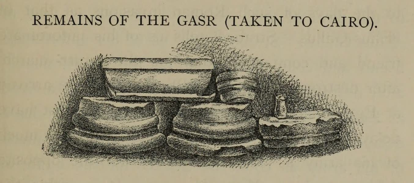 The Land of Midian (Revisited) Vol. 2 - Remains of the Gasr (Taken to Cairo) (1879)