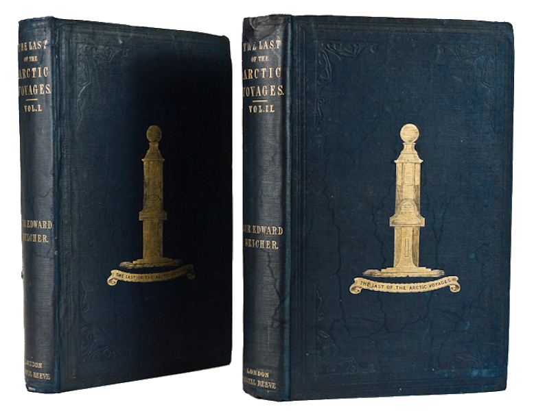 The Last of the Arctic Voyages Vol. 1 - Book Display (1855)