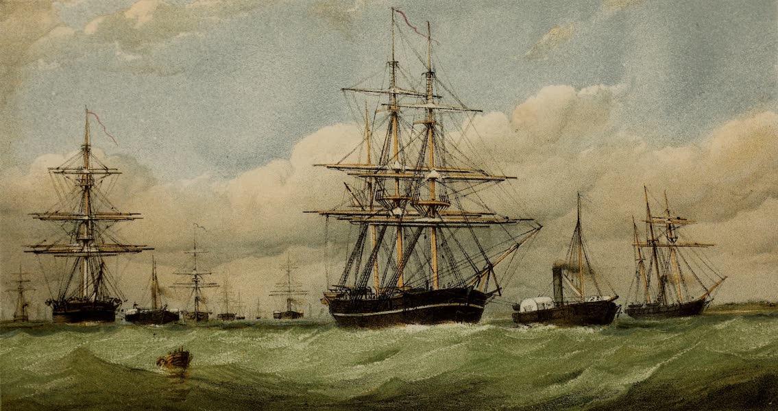 Arctic Squadron Quitting the Nore, April 1852