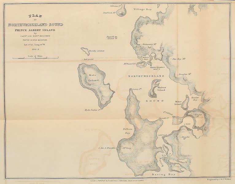 Plan of Northumberland South, Prince Albert Island