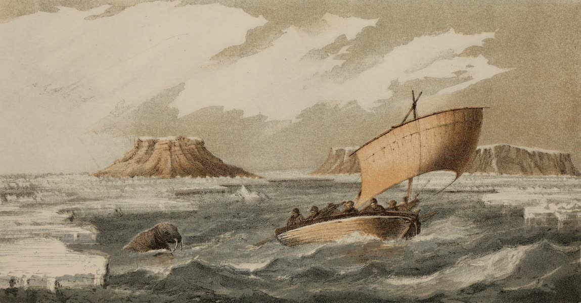 The Last of the Arctic Voyages Vol. 1 - The Hamilton Under Canvass (1855)