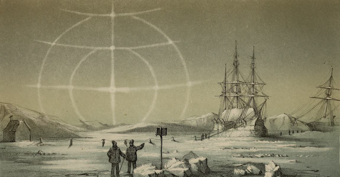 The Last of the Arctic Voyages Vol. 1 - Paraselena, Nov. 30th, Northumberland Sound (1855)