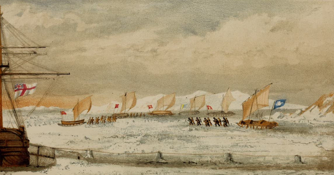 The Last of the Arctic Voyages Vol. 1 - Departure of South-West Division (1855)