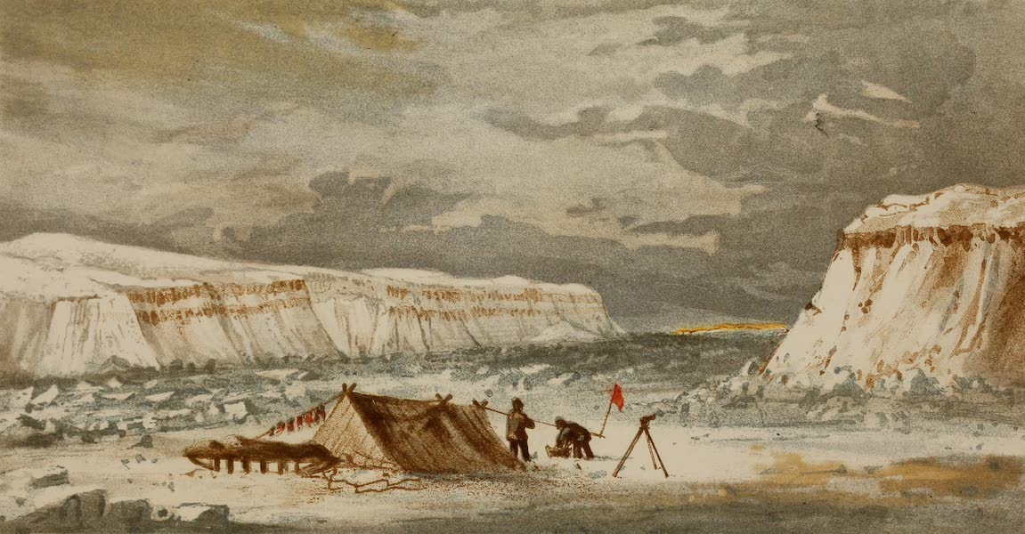 The Last of the Arctic Voyages Vol. 1 - Entrance of Cardigan Strait (1855)