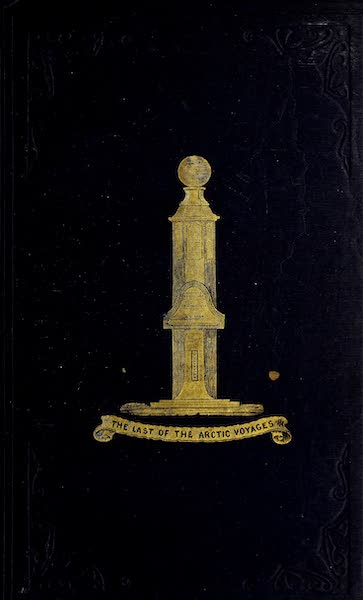 The Last of the Arctic Voyages Vol. 2 - Front Cover (1855)