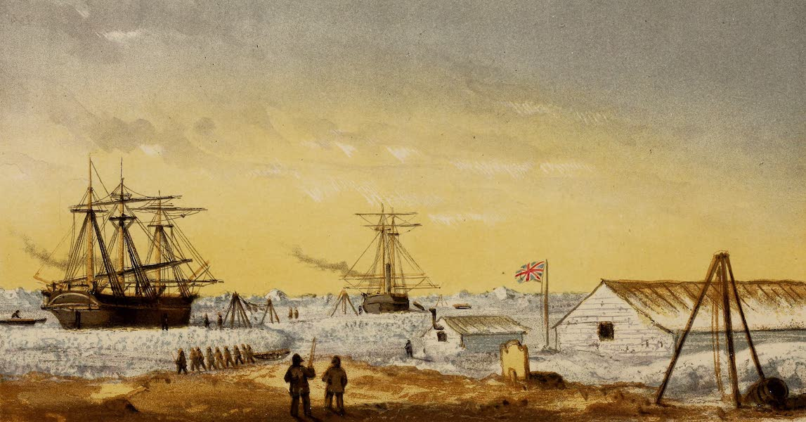 Crystal Palace Winter Quarters, 1853-4