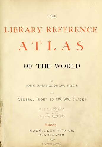 World - The Library Reference Atlas of the World