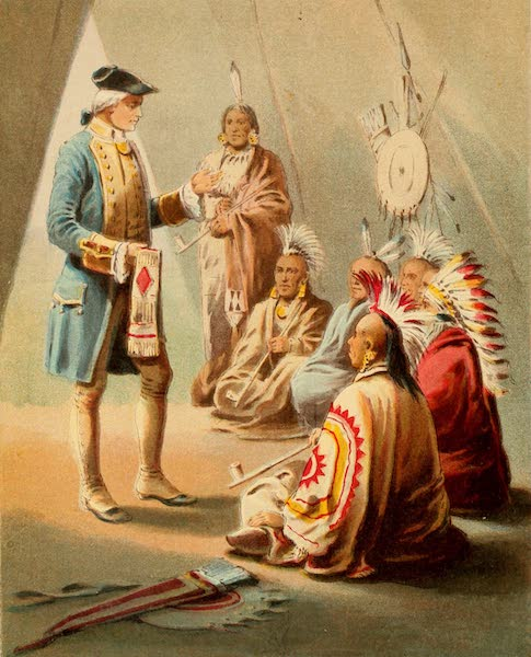 The Life of George Washington - Washington's First Speech to the Indians (1893)