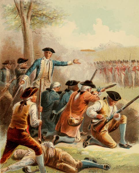 The Life of George Washington - Attacking the Red Coats on their Return to Boston (1893)